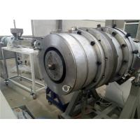 Best Single Screw Pe Pipe Extrusion Line , Pipe Extrusion Machine For Water Supply wholesale