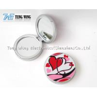 China Personalised Travel Makeup Mirror Grils Small Makeup Mirror Gift on sale