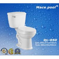 Best Good Quality Sanitary Wares Ceramic Two Piece Toilets (DL-050) wholesale