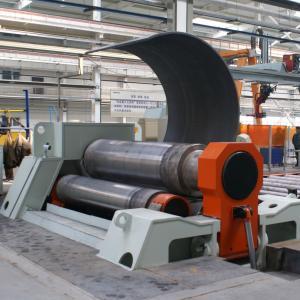 Best CNC Hydraulic Plate Bending Roller Machine , W12 - 12×3000 4 Roller Plate Rolling Machine wholesale