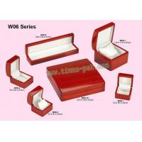 Best red   wooden jewelry boxes wholesale
