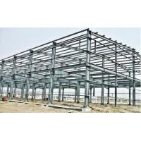 Industrial Large Span Prefabricated Steel Structures With Workshop Bolts Connect