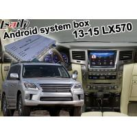 Best Lexus LX570 2013-2015 Android navigation video interface navigation box optionl wireless carplay wholesale