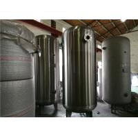 Best ASME Certified Stainless Steel Air Receiver Tank Frosting Surface Treatment wholesale
