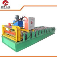 Best 8 - 10m / Min Speed Cut To Length Line Machine , Roof Panel Roll Forming Machine wholesale