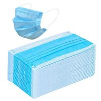 Best Blue Disposable Civilian Masks Stereo Cutting Workmanship For Comfortable Wear wholesale