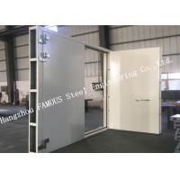 China Explosion Proof Steel Framed Blast Door Industrial Garage Doors For Governments And Banks on sale