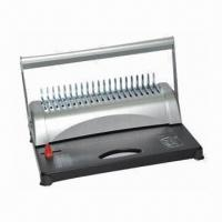 Best Comb Binding Machine with 21 Disengageable Punch and 20 Sheets, OEM and ODM Orders are Welcome  wholesale