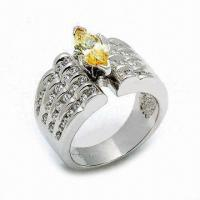Best 925 Sterling Silver Ring, Customized Designs are Welcome wholesale