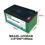 Best 20Ah 12 Volt Lithium Battery Pack / Medical Equipment Batteries Large Capacity wholesale