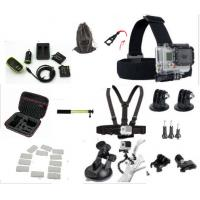 Best Sport Camera Kit GoPro HERO 4 Accessories Carrying Case , Battery All In One Bundle wholesale