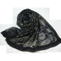 Best Burnt-out Silk Scarf (HP1297) wholesale