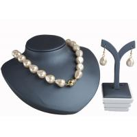 Best Champagne Baroque Pearl Necklace With Magnetic Clasp , Antique Pearl Necklace wholesale