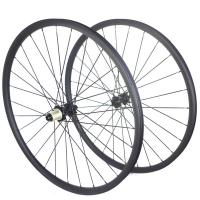Buy cheap Tubeless 29 Inch Carbon Mountain Bike Wheels Six Bolts Through Axle Center 27 from wholesalers