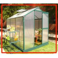Buy cheap 4x10ft unilateral greenhouse with clear drawing from wholesalers