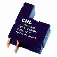 Best 100A Magnetic Latching Relay with 250V AC Coil Voltage and Silver Alloy Contact Material wholesale