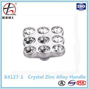 China kitchen cabinet door crystal handle on sale
