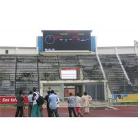 China Dust Proof Sport Perimeter LED Display Easy Maintenance Good Color Uniformity on sale