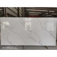 China Gray Vein Calacatta Gold Quartz That Looks Like White Artificial Marble China factory on sale