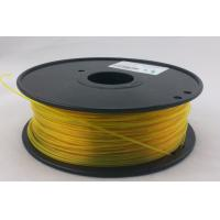 Best Yellow T-Glass 3.0mm 3D Printing Material Filament For Creation Field OEM Recognized wholesale