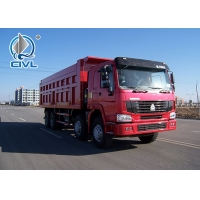 China Left Hand Driving 8X4 Tipper Truck SINOTRUCK HOWO ZZ3317N4267A 50 - 60T Dump Truck on sale
