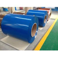Best Prepainted Galvanized Steel Coil , Cold Rolled Color Coated Roofing Sheets wholesale