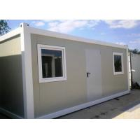 Best Single Layer Pre Made Container Homes With Horizontal And Vertical Connection wholesale