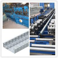 material thickness 1.6 to 2.5mm cable tray roll forming machine drive way 1.5 inch Chain fast