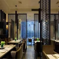 Best 304 201 brass perforated sheet stainless steel screen for resturant room divider deco wholesale