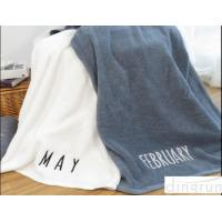 Best Comfortable Organic Cotton Bath Towels Non Toxic Reactive Printing Style  wholesale