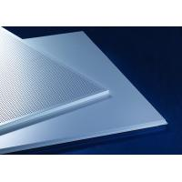 Best Acoustic Lay-In  Aluminum Metal Ceiling 600x600mm Prevents The Heat Loss Recycling wholesale