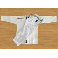 Best White Blank Brazilian Jiu Jitsu Kimonos With Big Curve Shape Pant wholesale