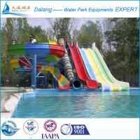 Best Freefall Red Adult Water Slide For Hotel wholesale