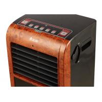 China 2000w Heating Power Portable Air Cooler And Heater With Emulational Fireplace on sale