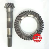 China Truck Spiral Bevel Gear Modulus 6.4 , Crown Wheel and Pinion Gear on sale