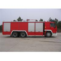 Best HOWO Chassis Water Tanker Fire Truck With Direct Injection Diesel Engine wholesale