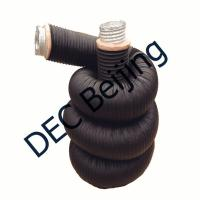 Buy cheap Fiberglass wool insulated flexible air duct 6 inch insulated duct product