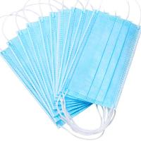 Best Nonwoven Anti Dust 3ply Civil Disposable Nose Mask wholesale