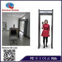 Best Portable Walk Through Metal Detector Security Doors With LED Displaying Panel wholesale