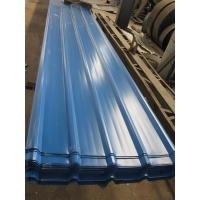 China 1500 - 3800mm Length JIS G3322 CGLCC, ASTM A792 Prepainted Corrugated Steel Roof Sheets on sale