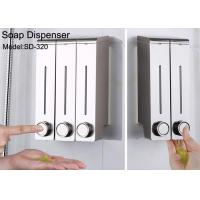 China ABS Hand Pump Daily Household Items Hotel Wall Mount Liquid Soap Shampoo Dispenser on sale