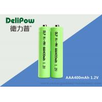 Buy cheap High Efficiency Nimh Rechargeable Batteries Aaa , 400mAh Rechargeable Batteries Aaa product