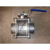 China 3pc 3 inch stainless steel ball valve(1000PSI 1/4--4) on sale