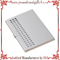 China Silver Business Card Holder on sale