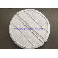 China PTFE Mesh Pad Mist Eliminator High Working Temperature Plastic Material on sale