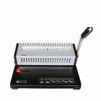 Best Comb binding machine, 21 movable punch pins, open punching 15sheets/time, available all comb binding  wholesale