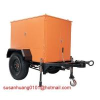 China Trailer Type Mobile Insulation oil (Transformer oil) Treatment plant / oil purifier on sale