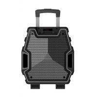 Best 8 Inch Black Color Portable  Plastic Body Speaker System With Bluetooth Function wholesale