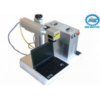 Best 20w 30w 50w Raycus Fiber Laser Marking Machine For Metals , High Speed wholesale