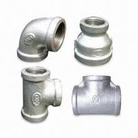 Best Malleable Iron Pipe Fittings, Made of ANSI/ASTM A-197/ASTM A47 Material  wholesale